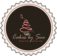 Cakes by sue Logo