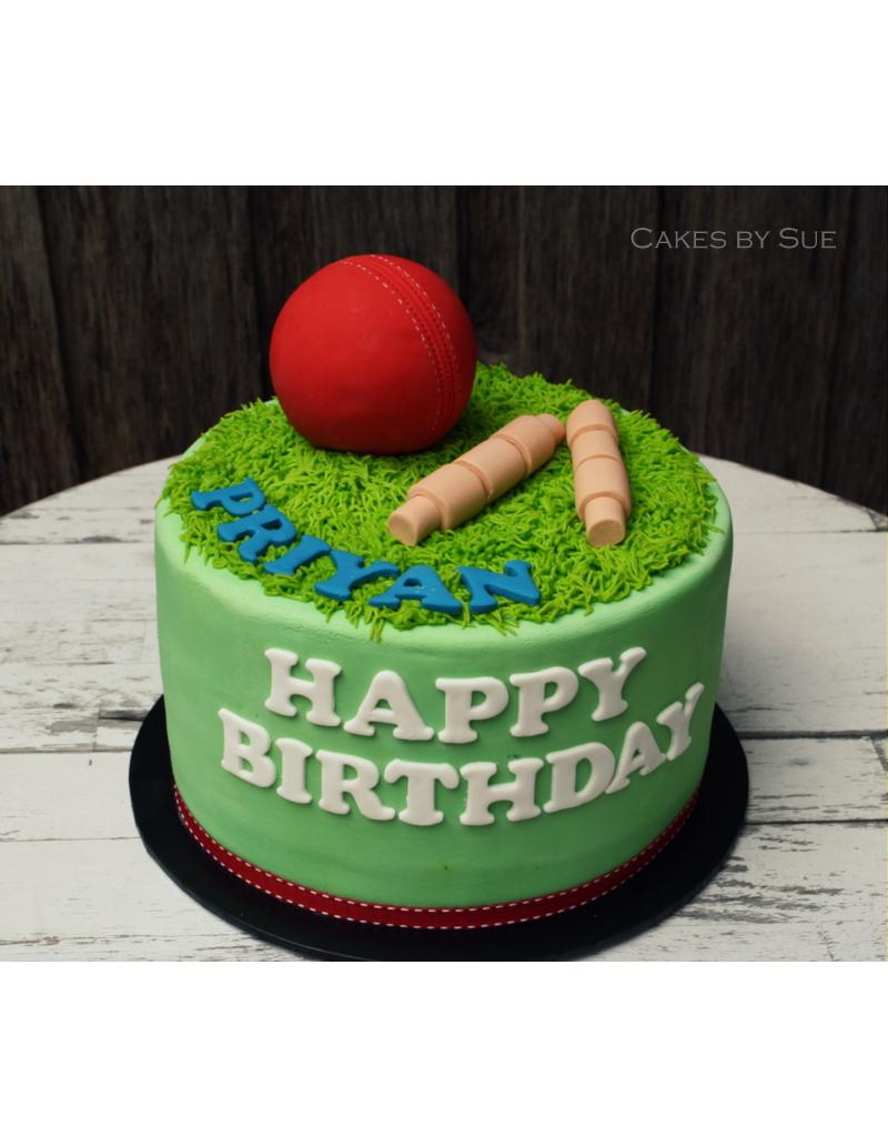 Cricket Themed Cake Colletion