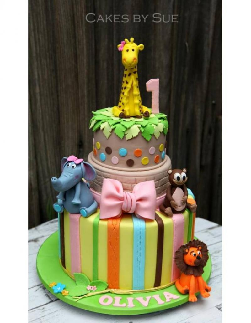 JUNGLE SAFARI ANIMAL CAKE COLLECTION A Lion King Themed Birthday Cake